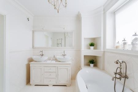Clean and Modern Bathroom Space